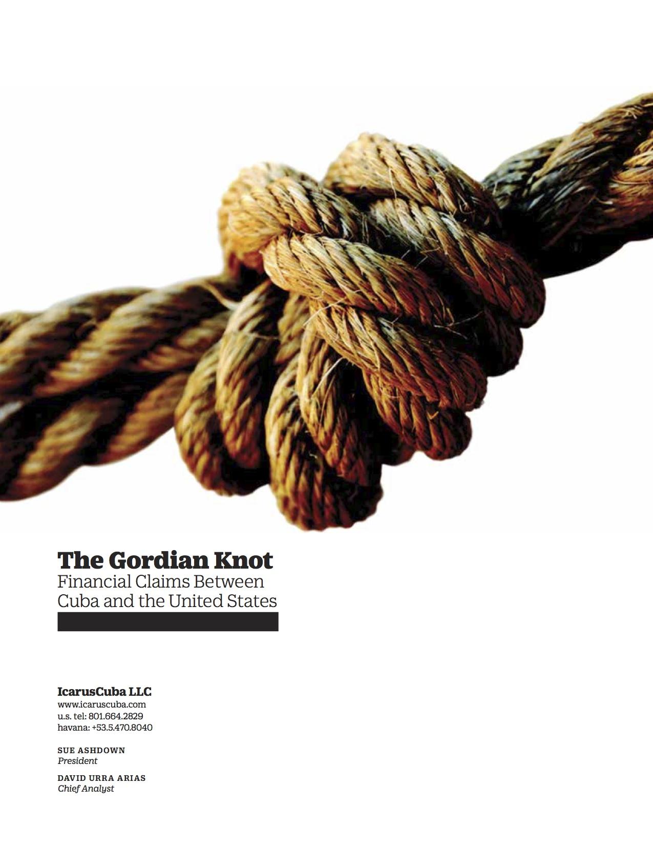 gordian knot cuba US